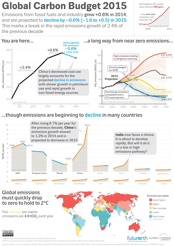 The Global Carbon Project